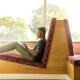 A man studying in sunlight, CampusCE Case Study, Princetone University